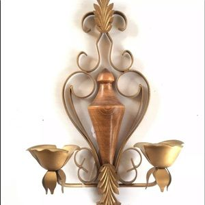 Other - Midcentury Wall Sconce Vintage Home Candleholder